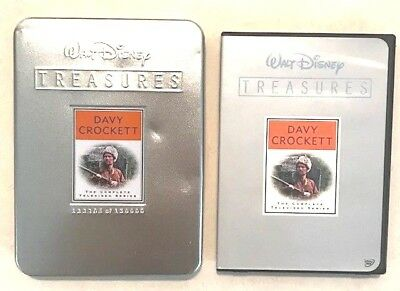 Walt Disney Treasures: Davy Crockett - The Complete Televised Series DVD !!!