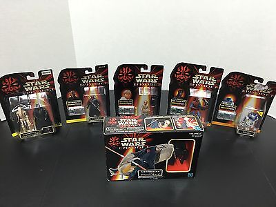 Star Wars Episode I New Action Figure Lot Of 6 Dearth Maul Anakin R2D2 Panaka