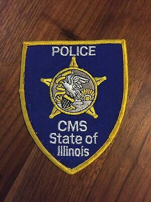 State Of Illinois Central Management Services (CMS) Police Patch