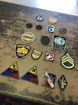 Police Patch ( 17 ) Lot!