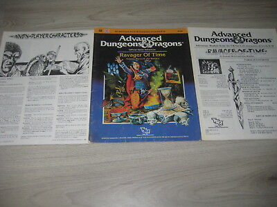 AD&D 1st Edition I8 Ravager of Time Adventure 1984 TSR 9169 Softcover