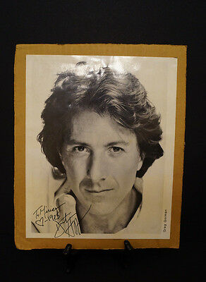 Autographed picture of Dustin Hoffman