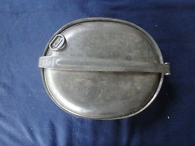 World War One U.s. French Made Mess Kit And Utensils.