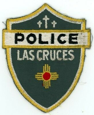 Las Cruces New Mexico Nm Police Old Vintage Sheriff