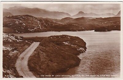The Road By Loch Mhinidh On The Road To Kyle Sku Ferry, SCOURIE, Sutherland RP