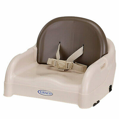 Graco Blossom Toddler Adjustable Booster Seat, Brown-Tan