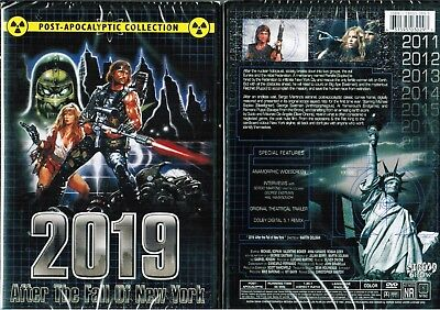 2019 After Fall of New York Nw DVD From Shriek Show Horror Sci Fi Sergio Martino