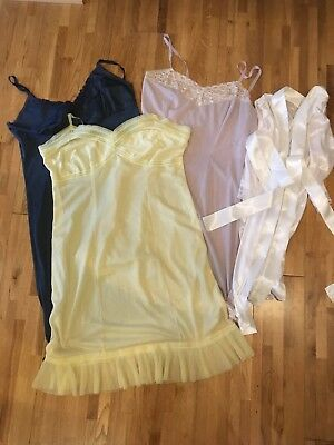 Job Lot Vintage Slips and a Robe