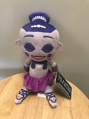 Five Nights at Freddy's Sister Location Plush Ballora Stuffed Doll Plush! NWT!