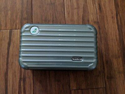 Gray Green EVA Air Rimowa Amenity Kit (Opened, partial contents)