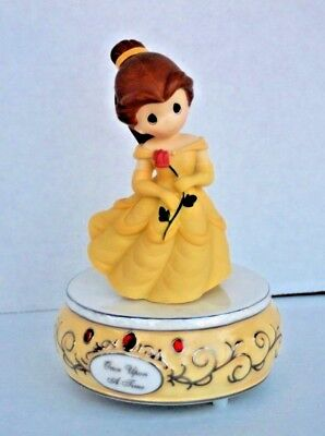 Precious Moments Beauty & The Beast Once Upon a Time  Music Box