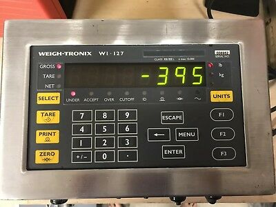 Avery Weigh-tronix WI-127 Scale indicator