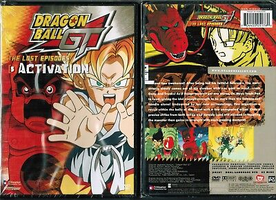 Dragon Ball GT Lost Episodes Vol 5 Activation New Anime DVD Funimation Release