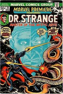 """Marvel Premiere #10 (1973) featuring Dr. Strange; """"Death"""" of the Ancient One"""