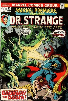 Marvel Premiere #12 (1973) feat. Dr. Strange; 1st app Witch Queen of the Gypsies