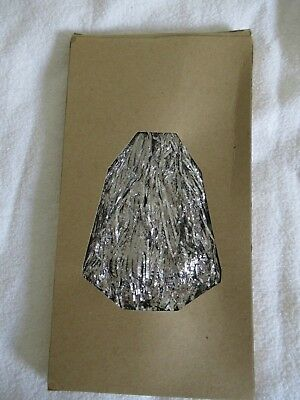 """Vintage Christmas Tinsel Icicles 32"""" Long Silver (Lead) Aluminum"""