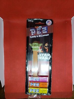 Yoda PEZ Dispenser - New in Package - Star Wars - 2012 BIN#B8