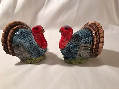 Maxcera Turkey Salt And Pepper Shakers Thanksgiving New In Box