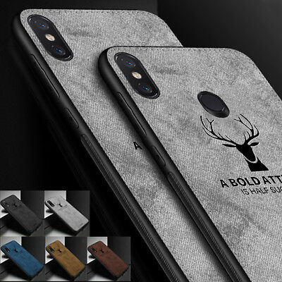 Luxury Cloth Texture Case Soft TPU Silicone Shockproof Covers for Xiaomi F1/Max3