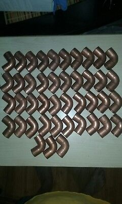 Nibco 3/4 NOM copper pipe fittings New Old Stock
