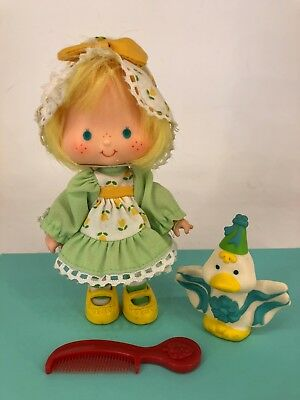 Vintage 1980s Strawberry Shortcake- Party Pleaser Mint Tulip with Marsh Mallard