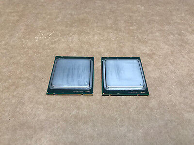 Matched Pair 2x Intel Xeon E5-2680 2.70GHz 8-Core 20MB 8.0GT/s Processor