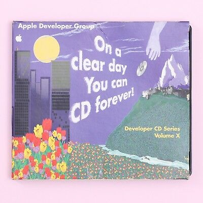 Apple Developer CD Series - Volume X: On A Clear Day You Can CD Forever Software