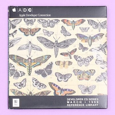 Apple Developer CD Series March 1999 Reference Library Edition Mac Software