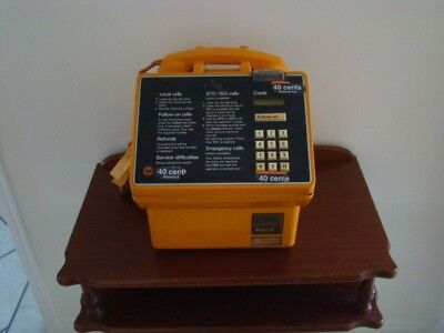 Gold Telecom Payphone Coin Operated 1980's