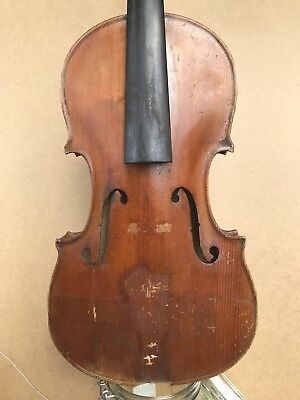 Old French violin 1900's for renovation