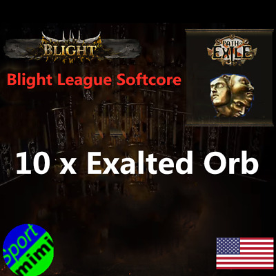 Path of Exile POE Currency 100 x Exalted Orb Synthesis League Softcore SC / Item