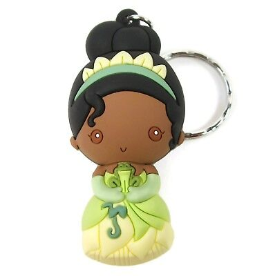 "Disney 3D Figural Keyring Princesses Series 9 TIANA KEYCHAIN 3"" Opened Blind Bag"