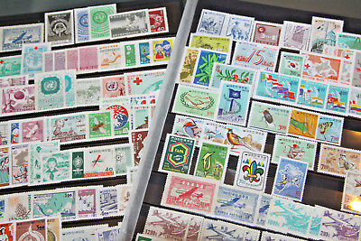 SOUTH KOREA - 1950's-60's UNMOUNTED MINT (MNH) COLLECTION ON 2 PAGES OF S/SHEETS