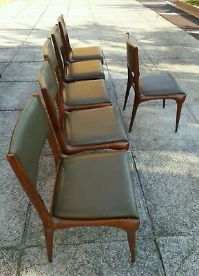 Chairs  n.585 Carlo de Carli Cassina