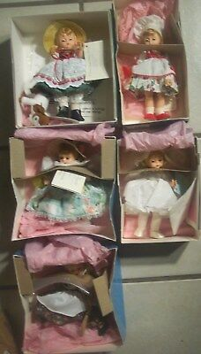 Lot of ( Five ) MADAME ALEXANDER DOLLS W/ ORIGINAL BOXES