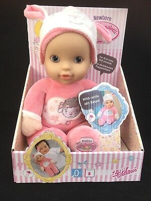 My First Baby Annabell Newborn Doll Zapf Creation With Rattle - 30cm - Toy - 0+