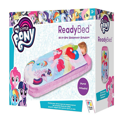 My Little Pony ReadyBed-Toddler Airbed Inflatable and Sleeping Bag in One - NEW