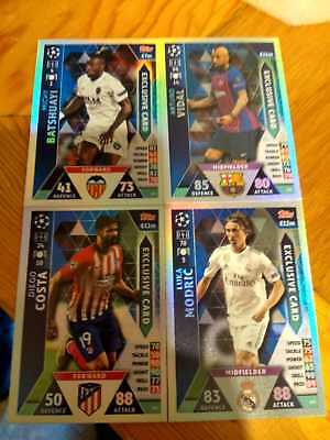 Topps Match Attax Champions League 2018/2019 Exclusive Edition Set