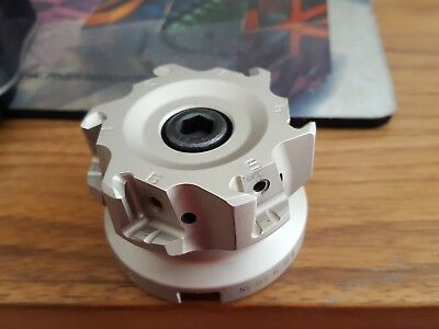 Face Mill, Iscar, NEW IN THE BOX.