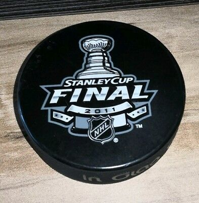 "Eishockey Puck ""Stanley Cup Finale 2011"""