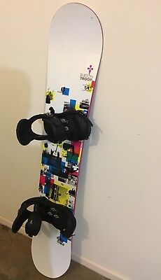 Womans burton snowboard
