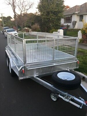 Brighton East - $50/day - Low Cost Trailer HIRE 10x5 Dual Axle with Cage