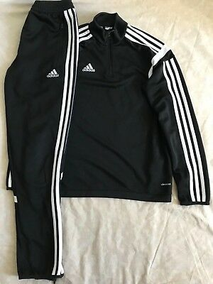 Boys Adidas CLIMACOOL Tracksuit / Slim Fit Bottom Age 12Years, VGC