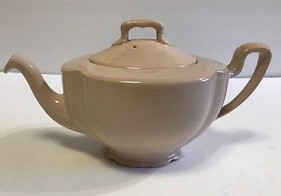 Johnson Bros England Rosedawn Peach Pink Small Teapot