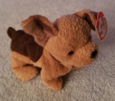 4ff3d087cf5 TY BEANIE BABY - TUFFY the Terrier Dog (6.5 inch) Mint w  Tags 1996 ...