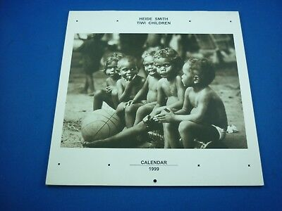 Aboriginal TIWI CHILDREN 1999 Calendar ( Photography by Heide Smith ) ( B&W )