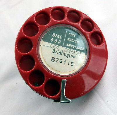 Gpo/bt Red Telephone Dial