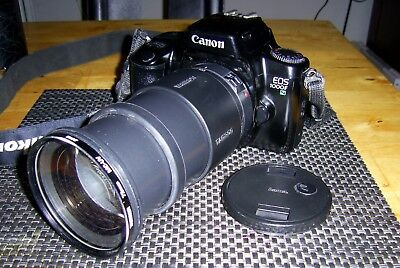 Canon EOS 1000FN mit Tamron AF Aspherical 3,8-5,6/ 28-200mm