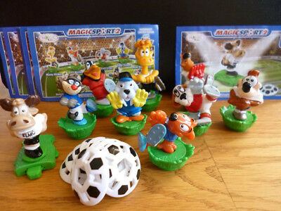 ÜEI - MAGIC SPORT 2 - 9 FIGUREN - BPZ`s  - INCL. ELMO ELCHMETER - 2008 -