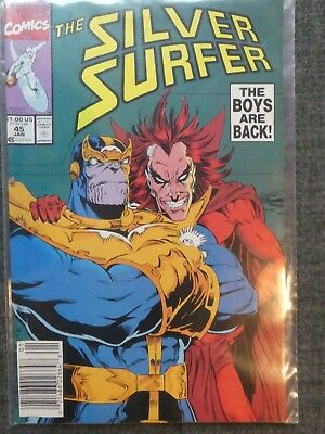 Silver Surfer 45 - Thanos - Infinity Guantlet - vfn